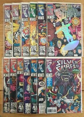 """SILVER SURFER (VOL.3) #70-82 (1992, 13 issues total) """"The Herald Ordeal"""""""