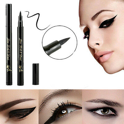 Waterproof Black Eyeliner Liquid Eye Liner Pencil Pen Makeup Beauty Comestics