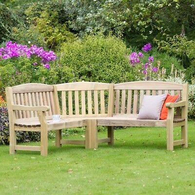 Prime Large Outdoor Corner Bench L Shaped Wooden Garden Seat Theyellowbook Wood Chair Design Ideas Theyellowbookinfo