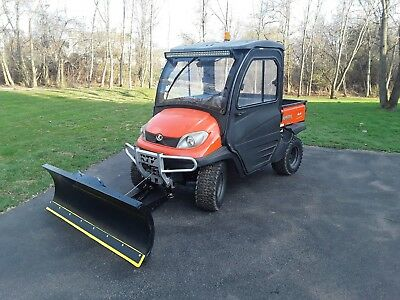 KUBOTA RTV 500 4X4 WITH SNOW PLOW****470 hours****