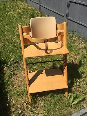 Stokke Tripp Trapp High Chair with accessories - Natural Beech Wood