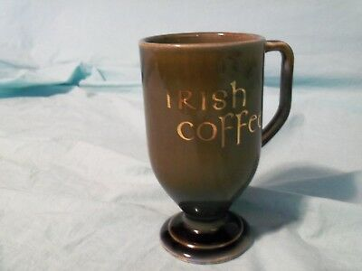 "Irish Porcelain, ""Irish Coffe"" Mug, Made in Ireland"