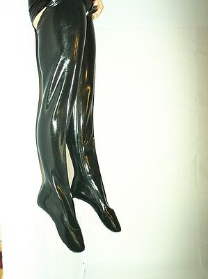 Promotion ! Ballet Boots 100% latex 37 38 39 40 41 42 43 44 45 46 47 *1027