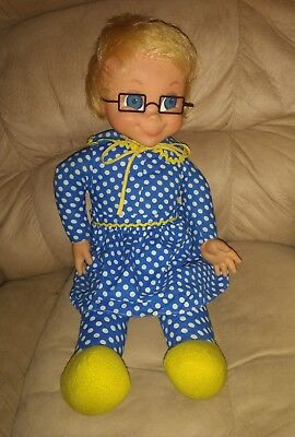 "Original 1967 Mattel Mrs. Bealey Doll ""Talking"" in Excellent condition"