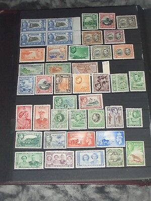 George V1 British Commonwealth stamps mixture all mint
