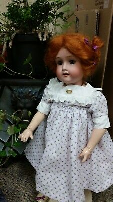 Antique bisque doll from 1917-1918 by Morimura Brothers, Japan