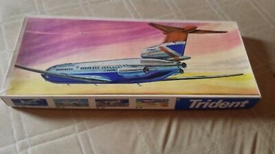 "VEB Plasticart ""Trident"" British Airways  (1/100) Kit from the former GDR"