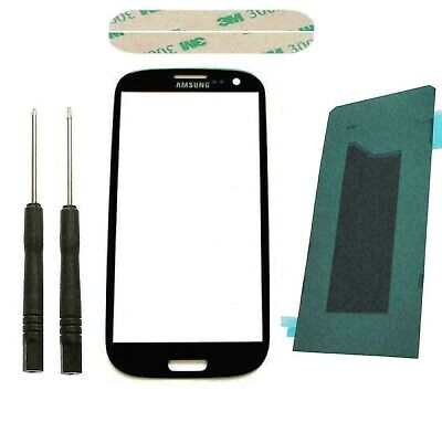Samsung Galaxy S3 I9300 Touch Screen Digitizer Front Glass Display Lens Black