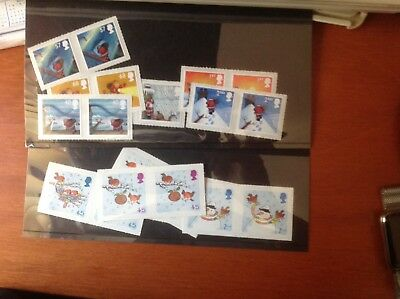 GB Commemorative Stamps Unused