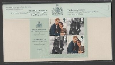 Gb 2018 The Royal Wedding Prince Harry & Meghan Marckle Presentation Pack