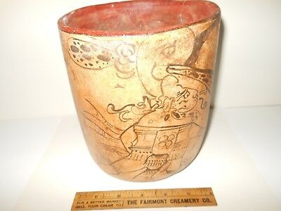 Inca/Aztec South American Antiquities Pottery Reproduction