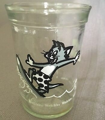 Tom and Jerry Welch's Jelly Jar Glass Surfer Surfboard