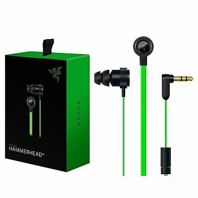 In-Ear Razer Hammerhead Pro V2 Gaming Headset PC Laptop Music earphone WithMic#4