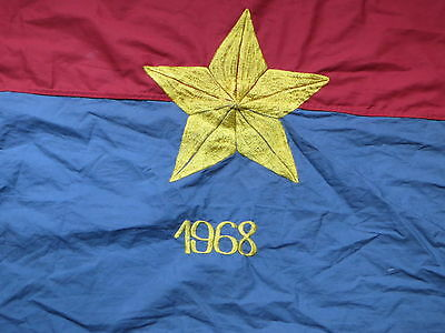 Flag  , MONKEY TET 1968 ,  Resolve to win ,  , VC FLAG , NVA flag , YEAR 1968