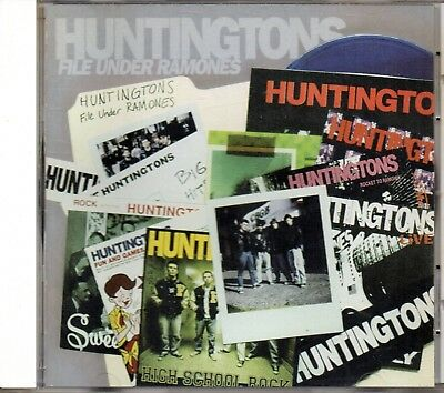 Huntingtons ‎– File Under Ramones. CD 1999