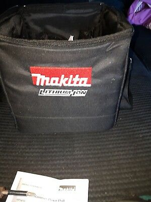 makita combi drill plus impact driver set inc carry case & 1 battery and charger