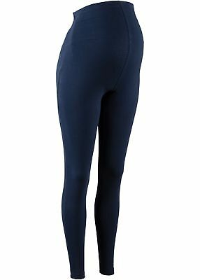 Umstandsleggings Gr. 36/38 Blau Damenhose Umstands-Leggings Skinny-Fit Pants Neu