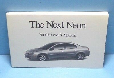 dodge neon owners manual