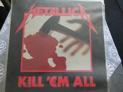 Metallica Kill ´Em All LP Schallplatte (Red Label) (Eingeschweißt)