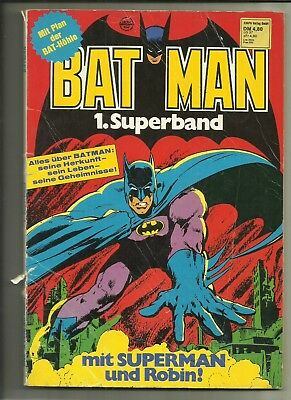 Batman Superband Nr.1 von 1978 Softcover