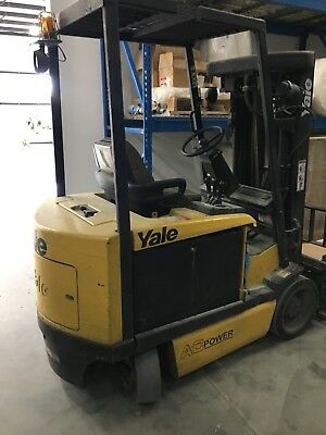 2008 -2010 Yale Erc060 6000Lb Forklift 3 Stage Mast Lift Truck