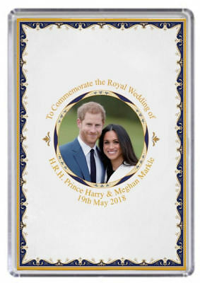 Prince Harry and Meghan Markle Royal Wedding Fridge magnet