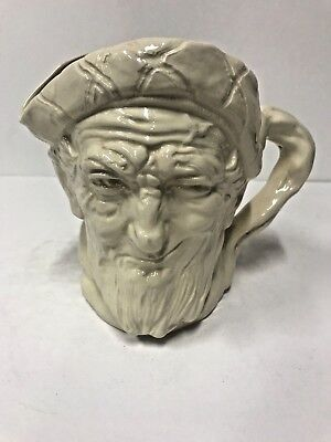 Royal Doulton Character Jug  White Auld Mac Large D5823