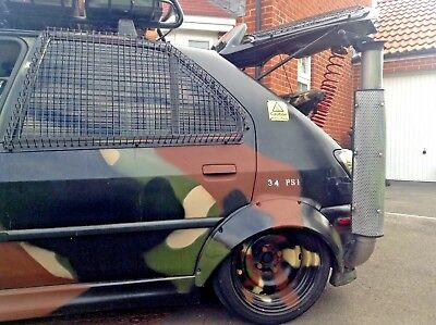ARMY style Camo 306 D Turbo Show Car, One Off Rat Look Highly Modified New MOT