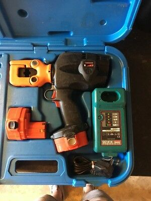 Cembre B 50 Kv Cordless Hydraulic  Crimping Tool 14.4 V  Battery Electrition