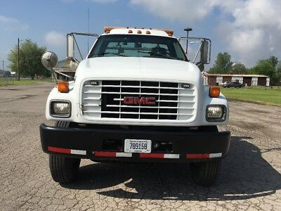 ROLLBACK TOW TRUCK 99 GMC C7500 Automatic