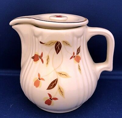 2010 Autumn Leaf Covered Smallest Radiance Jug