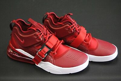 competitive price a7c1a 6f5e7  Ah6772 600  New Men s Nike Air Force 270 Team Red Gym Red White Le1038