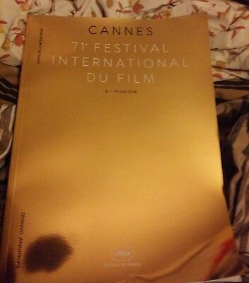 CATALOGUE OFFICIEL DU 71éme FESTIVAL INTERNATIONAL DU FILM DE CANNES 2018