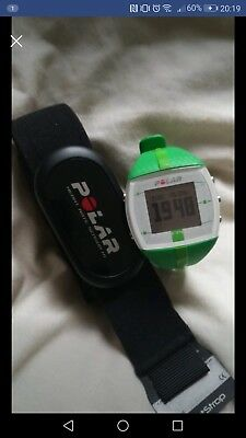 Polar Ft4 Heart Rate Monitor Watch And Strap Green