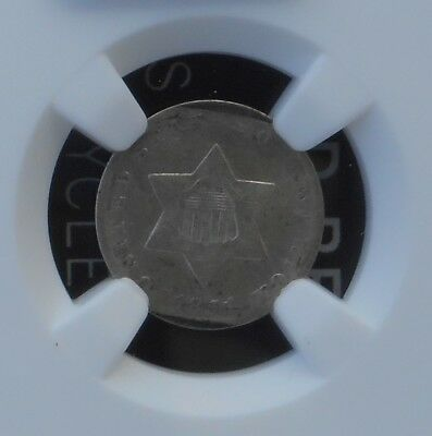1851 3CS Three Cent Silver Coin - NGC Certified VG Details - D024