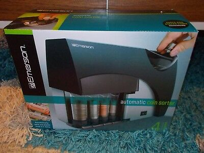 Emerson Automatic Coin Sorter - New in Box