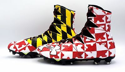 New Mens Under Armour Highlights MC Maryland 13.5 Football Cleats 1275479-002