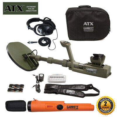 Garrett ATX Extreme Pulse Induction with Pro-Pointer AT, Headphone, Soft storage