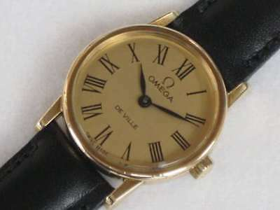 Omega De Ville Cal.625 Vintage Hand-winding Womens Authentic Watch Japan F/S