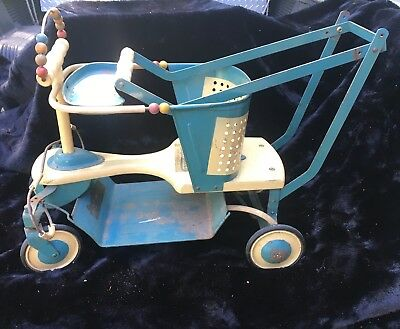 Circa 1920's Iver Johnson Baby Walker - All Original - Original 3 Labels