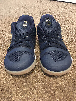 Brand new, genuine Nike Kyrie 3 boys toddler, blue and gold