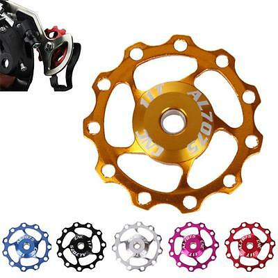 11T Aluminium Jockey Wheel Bicycle Rear Derailleur Pulley Guide Bearing 1 set
