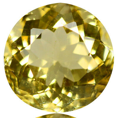 2.84 Ct Lovely!! Luster Top Rich Fire Natural Yellow Beryl!!!