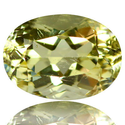 2.19 Ct Extraordinary!! Luster Top Rich Fire Natural Yellow Beryl