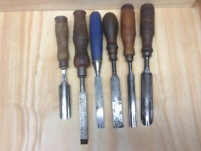 Woodworking Chisels and Gouges. Various brands