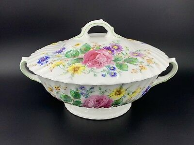 Royal Doulton Arcadia Serving Bowl With Lid Tureen Bone China England