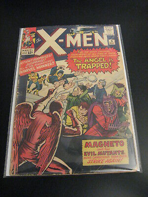 Lookee! ---> X-MEN #5 1964 (G/VG) or (VG-) *Flat & Colorful!*