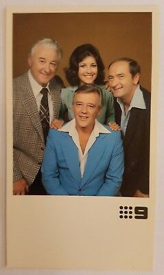 Channel 9 Television Fan Card