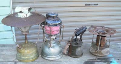 Vintage Primus Kerosene Lanterns Blowtorch and Camp Stove