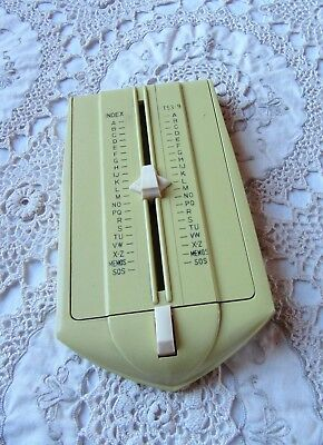 Vintage 1970'S Teledex Model T53-9 Touch Control Index – Mustard Yellow Colour